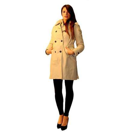 Trench 665 Fur FW/M Lady Brema