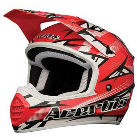 Casco 035 Fiber  Atomik Red Acerbis
