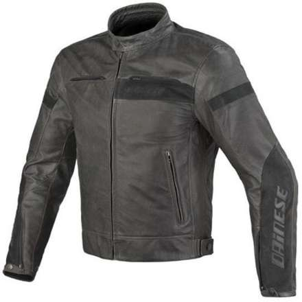 Leather jacket Stripes evo Dainese
