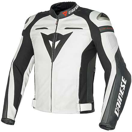 Super Speed jacket white white anthracite Dainese