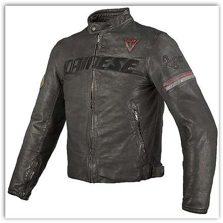 Archivio leather Jacket Black Ago Dainese