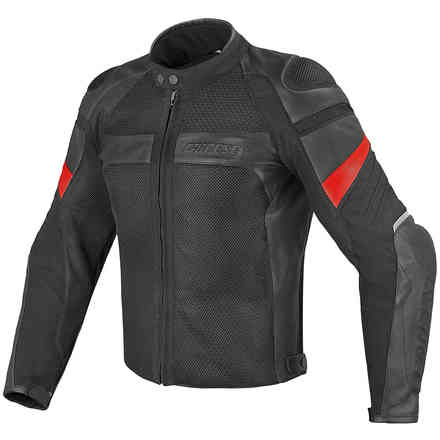Air Frazer Tex-Pelle Black Jacket Dainese