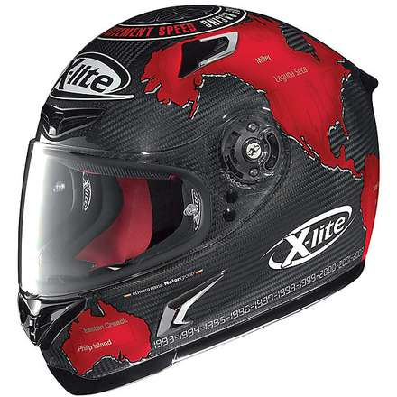 X-802R Ultra Carbon Replica C.Checa Helmet X-lite