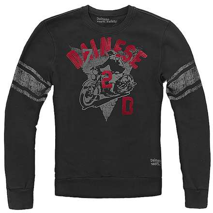 T-shirt D72 L/S Nero Dainese