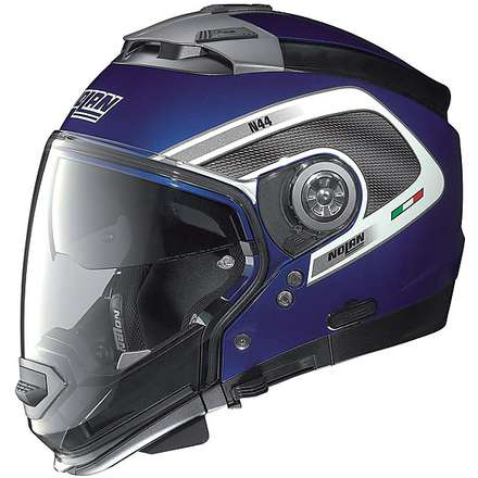 Casco  N44 Tech Cayman Blue N-com Nolan