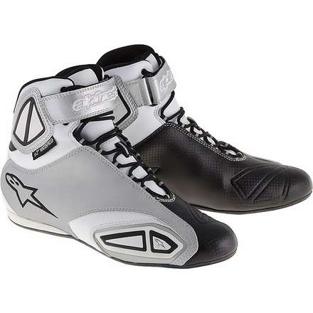 Fastlane Waterproof White/Black Boot Lady Shoe Alpinestars