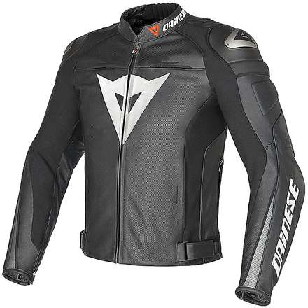 Super Speed C2 traforated  jacket black-black-anthracite Dainese