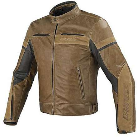Leather Jacket Stripes evo traforated Dainese