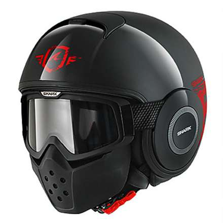 Raw Trinity Black / Red Helmet Shark