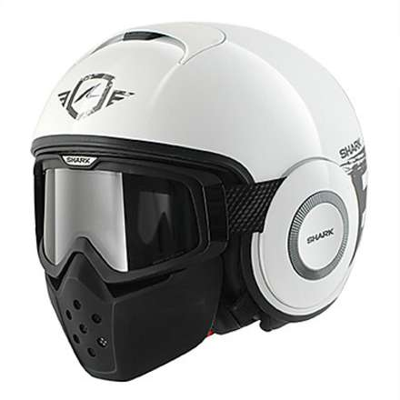 Raw Trinity White / Anthracite Helmet Shark