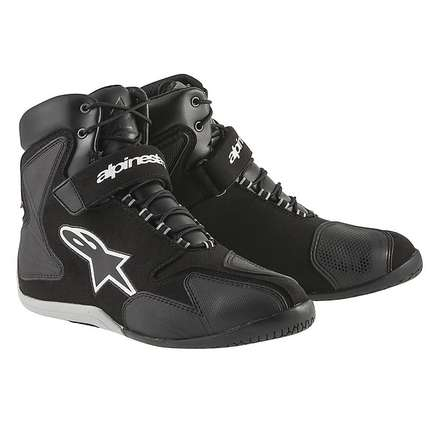 Fastback Waterproof Boot black-white Alpinestars