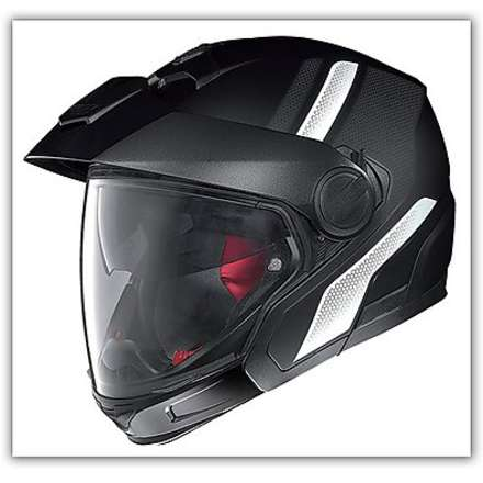 Casco  N40 Full Adventy Plus Nero N-com Nolan