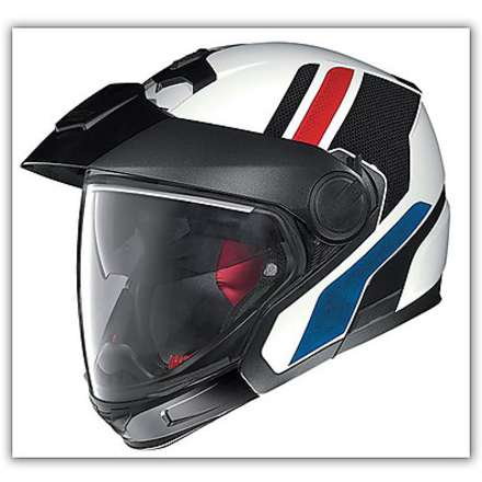 Casco  N40 Full Adventy Plus Bianco N-com Nolan
