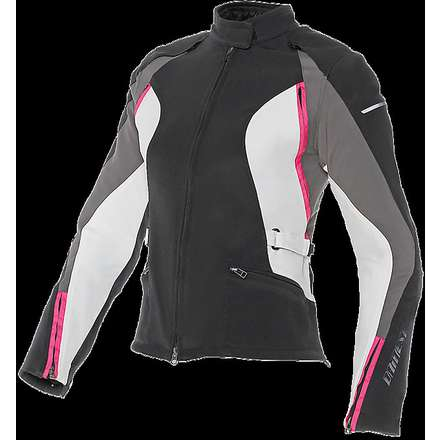 Arya Tex Lady Jacket black-fuchsia Dainese