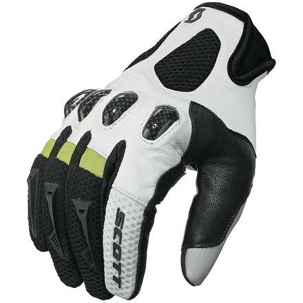 Guanti Assault nero-bianco Scott