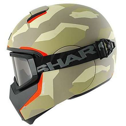 Vancore Wipeout Helmet ecru-anthracite-orange Shark