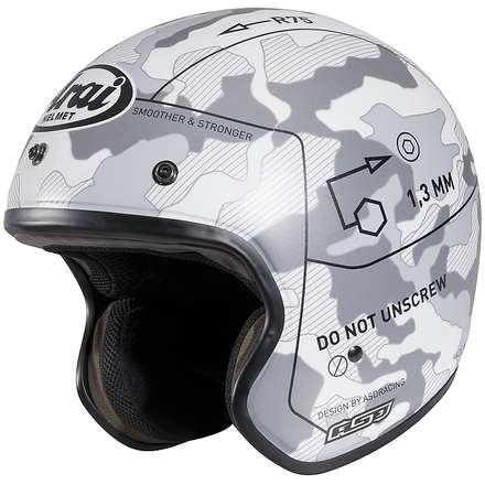 Freeway II Command White Helmet Arai