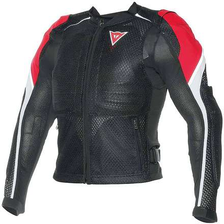 Sport guard jacket black-red-white Dainese