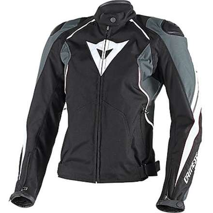 Raptor Tex  lady Jacket black-anthracite-white Dainese