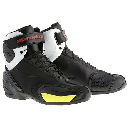 Sp-1 shoes black-yellow fluo Alpinestars