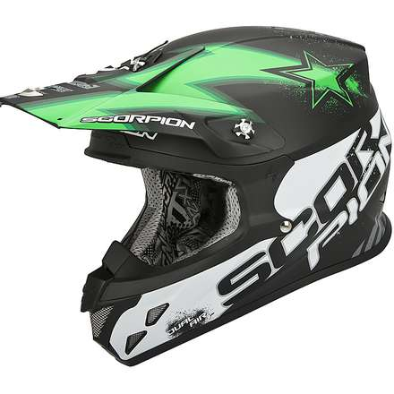 Helm VX-20 Air  Magnus Schwarz-Grun Scorpion