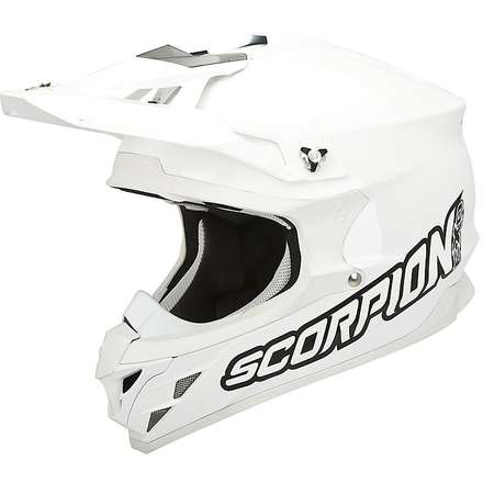 Helm VX-15 Evo Air Solid Weiss Scorpion