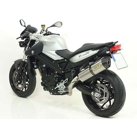 Bmw F 800 R '09 Terminale Maxi Race-tech titanio Fondello Carby Arrow