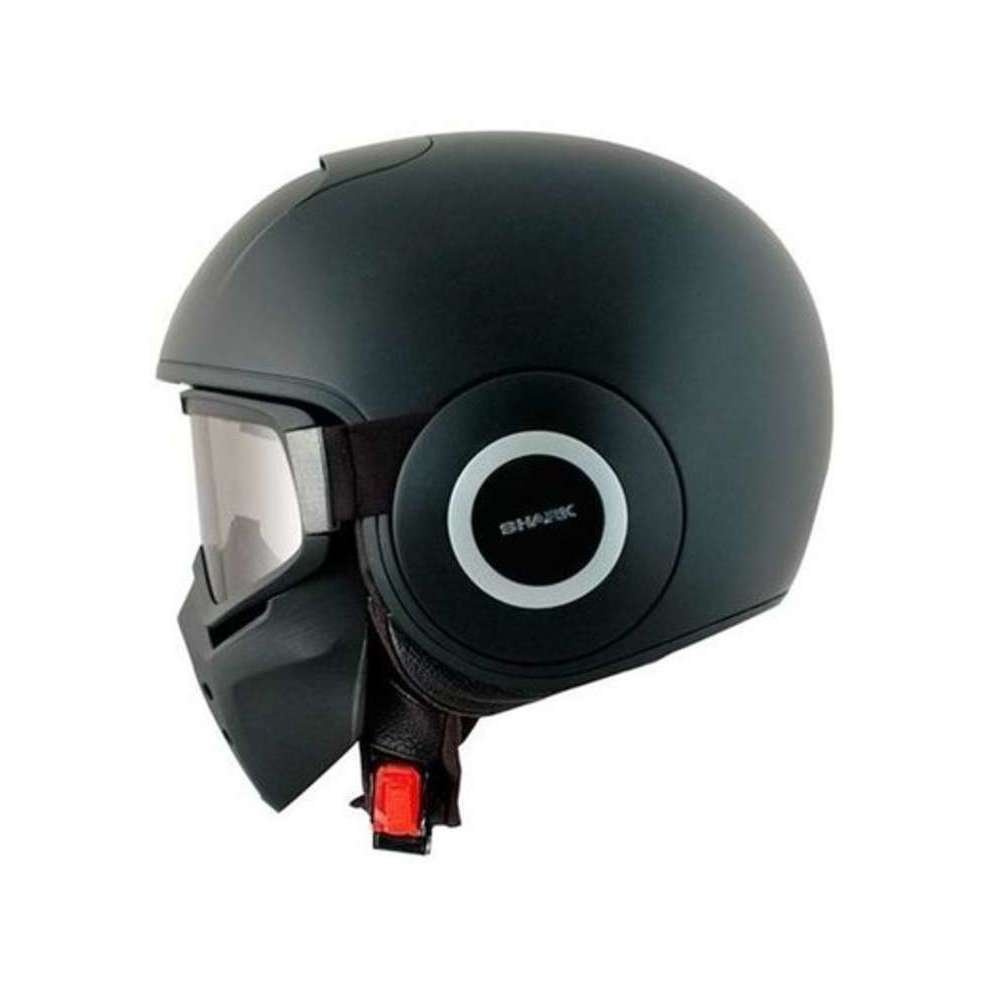 - Casque Raw Mat Shark