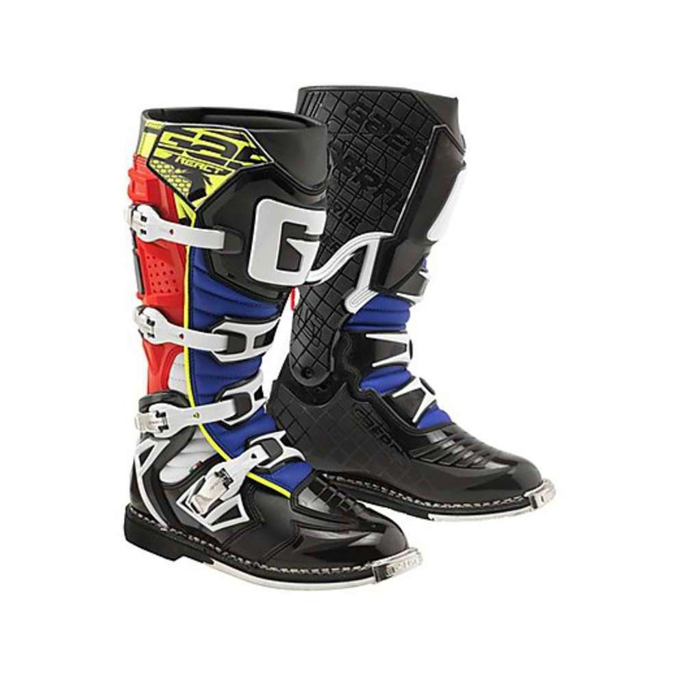 - G-react Goodyear Boots Red-Yellow-Blue Gaerne