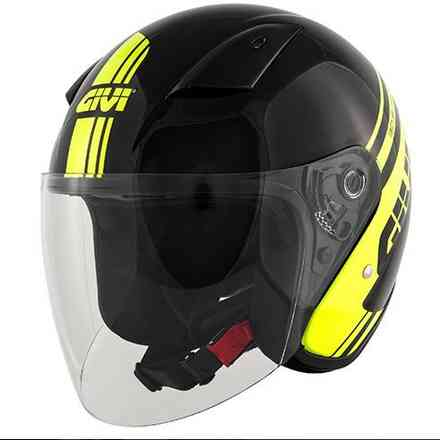 30.3 helmet black yellow Givi