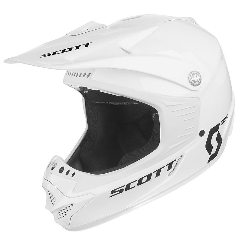 350 Pro Race Ece Junior Helmet white Scott