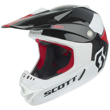 350 Race Ece Junior Helmet Scott