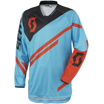 350 Track Junior Jersey blue-orange Scott