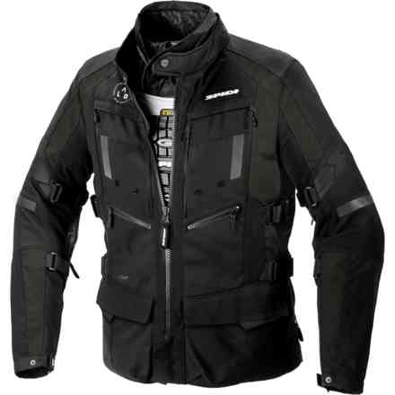4 Season Evo H2out Jacket Dark Green/Black Spidi