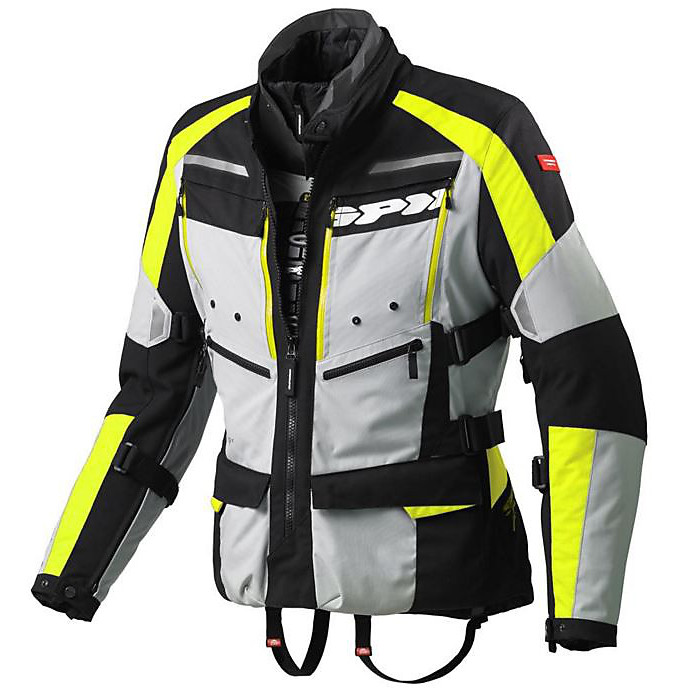 4 Season H2Out Jacket Fluo Yellow Spidi