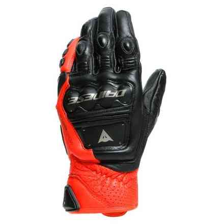 4-Stroke 2 black-fluo red gloves Dainese