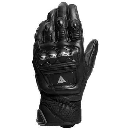 4-Stroke 2 black gloves Dainese