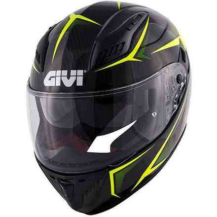 40.5 X-Carbon black yellow Givi
