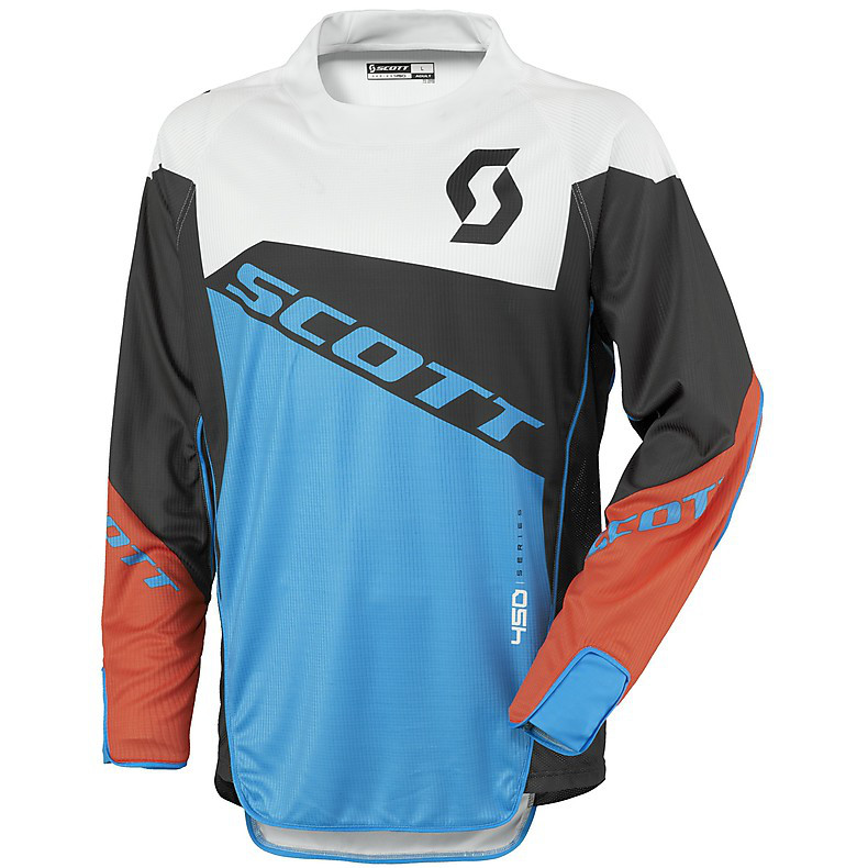 450 Podium Jersey black-blue Scott