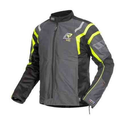 4air Gtx jacket grey yellow fluo RUKKA