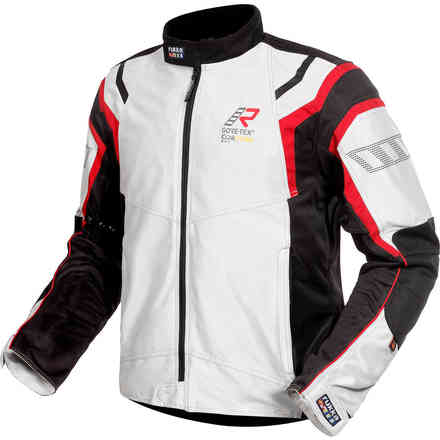 4air Gtx Jacket White black red RUKKA