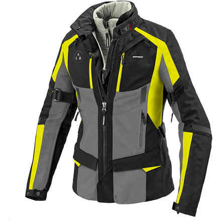 4season Evo Lady Jacket Fluo Yellow Spidi