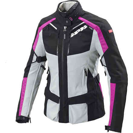 4Season H2Out fuchsia black lady Jacket Spidi