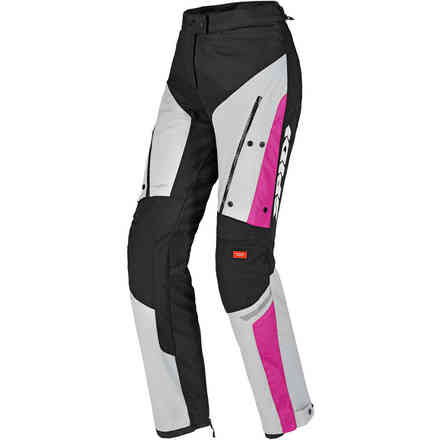 4season Pants Lady black fuchsia Spidi