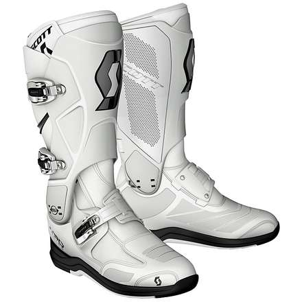 550 MX Boots white Scott