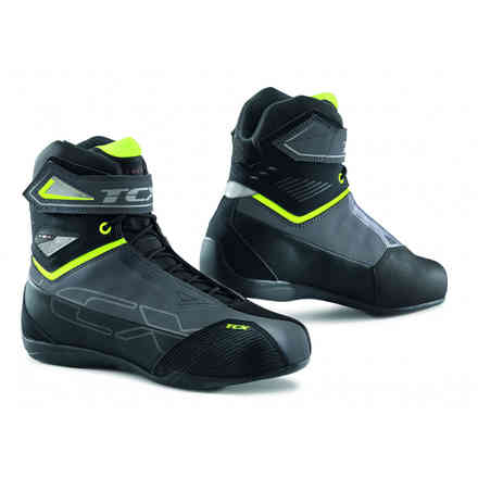 9507w Rush 2 Wp Boots Gray / Fluo Yellow Tcx
