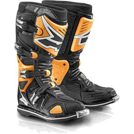 A2 boots black orange Axo