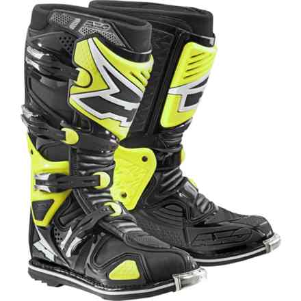 A2 boots black yellow Axo
