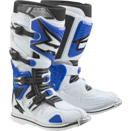 A2 boots white blue Axo