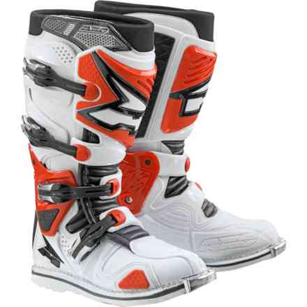 A2 boots white red Axo